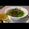Фото Фасолевый суп с крольчатиной