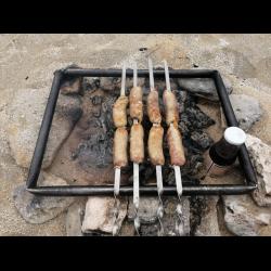 Рецепт: Жаренные свиные колбаски