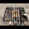 Фото Жаренные свиные колбаски