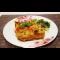 Фото Открытая картофельная запеканка с курицей в яичной заливке