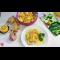 Фото Салат из пекинской капусты с креветками