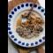 Фото Фарш с грибами и беконом