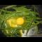 Фото Жареная зеленая фасоль с яйцом
