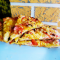 Фото Домашняя пица на тонком тесте
