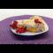 Фото Насыпной пирог с фруктами