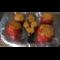 Фото Помидоры и баклажаны фаршированные мясом запеченные в духовке