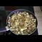 Фото Жареная картошка со свиной шкурой