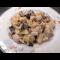 Фото Куриная грудка с лесными грибами и картофелем в сливках
