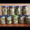Фото Консервированный салат из огурцов, лука и чеснока