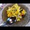 Фото Запеканка из кабачка и зеленого лука