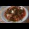 Фото Летний свекольный борщ с фасолью