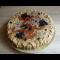 Фото Торт с творожным кремом и абрикосовым пюре