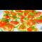 Фото Жареные кабачки с помидорами и чесноком