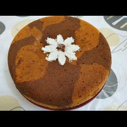 Рецепт: Шоколадно-лимонный кекс