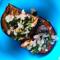 Фото Баклажаны печеные с петрушкой, чесноком и базиликом на зиму