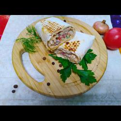 Рецепт: Шаверма по-питерски