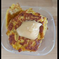 Рецепт: Вкусные протеиновые оладушки