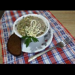 Рецепт: Салат с тунцом и вареными яйцами