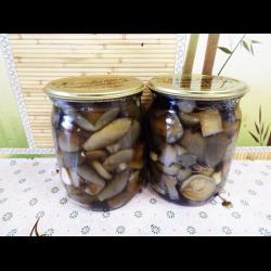 Рецепт: Маринованные моховики