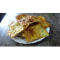 Фото Чипсы из лаваша со сметанным соусом