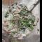 """Фото Салат """"Королевский"""" с креветками, авокадо и вкусной заливкой"""