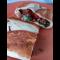Фото Ленивый пирожок с колбасой из лаваша