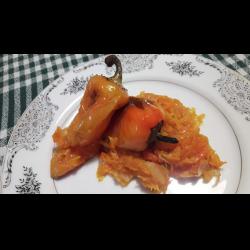 Рецепт: Жареный перец