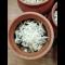 Фото Куриная грудка в сливочном соусе с базиликом в горшочках