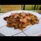 Фото Грибное рагу с сосисками