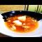 Фото Уха из лосося и пангасиуса на креветочном бульоне